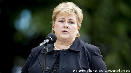 Erna Solberg (picture-alliance/dpa/V. Wivestad Groett)