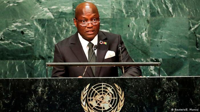 UN Generalversammlung in New York - José Mário Vaz, Präsident von Guinea-Bissau