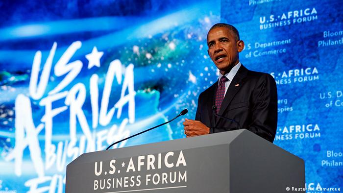 USA US- Africa Business Forum in New York (Reuters/K. Lamarque)