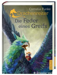 The Griffin's Feather by Cornelia Funke in German