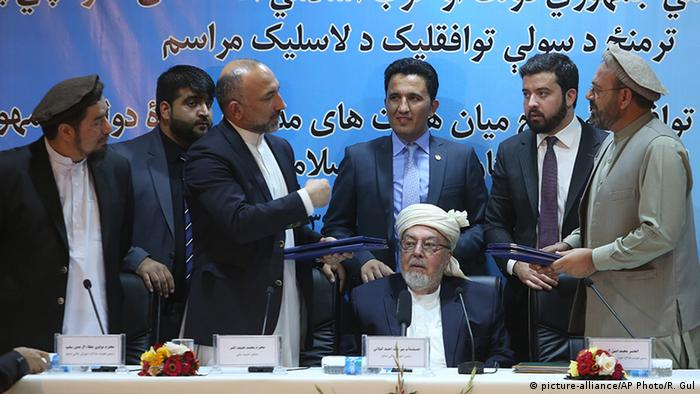 Afghanistan Friedensvertrag in Kabul