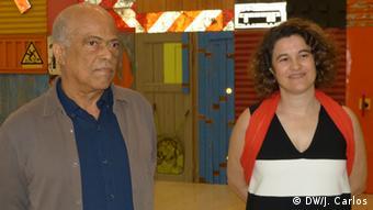 Portugal - Antonio Ole, Filmemacher aus Angola & Rita Fabiana