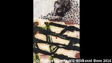 Ancien Regime 2016 / Markus Lüpertz , Andreas Mühe (24.09. - 04.12.2016 Kunsthalle Rostock) Markus Lüpertz Ohne Titel (Apoll), 2015 Guache, 45x33 cm © Markus Lüpertz, VG-Bildkunst Bonn 2016 +++Die Bilder darf nur im Zusammenhang mit einer Ausstellungsbesprechung verwendet werden. Für andere Textformate und Nutzungszwecke bitten wir Sie, vorab mit der Kunsthalle Rostock in Kontakt zu treten, um mögliche Fragen zu Honorarkosten, Nutzungs- und Urheberrechten zu klären. Die bereitgestellten Bilddaten dürfen nicht manipuliert, beschnitten oder für andere Zwecke verwendet werden. Die Pressebilder dürfen nur mit dem vollständigen Bildtitel und dem Künstlernamen veröffentlicht werden.++++