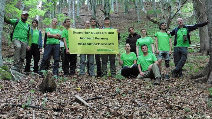 Rumanien Umweltaktivisten