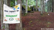 Rumanien Greeenpeace Forest Rescue Camp