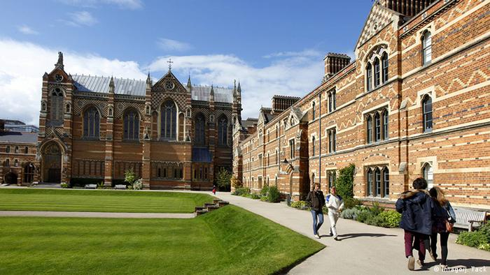 Keble College at the University of Oxford