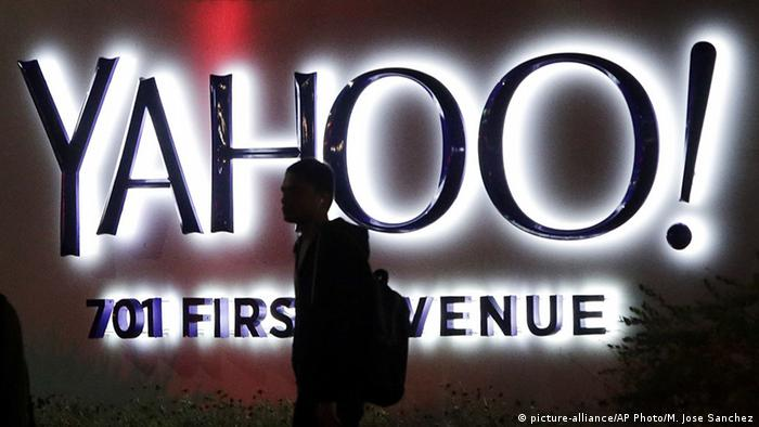 Yahoo Logo Schriftzug (picture-alliance/AP Photo/M. Jose Sanchez)