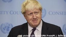 USA - Boris Johnson in New York