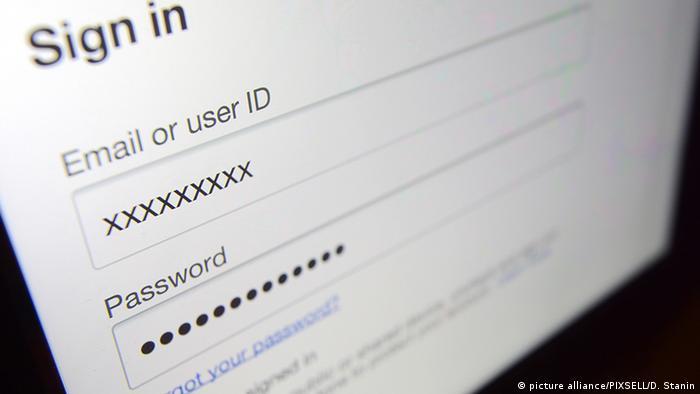 пароль, логин, вход в систему