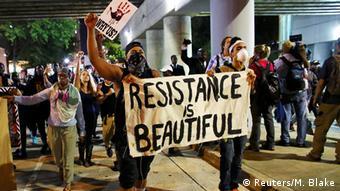 Масові протести в американському місті Шарлотт у вересні 2016 року