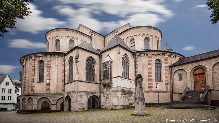 Exterior view of St. Maria im Kapitol church in Cologne, Germany (Jens Korte/KölnTourismus GmbH)