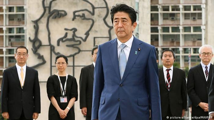 Japan Premierminister Shinzo Abe zu Besuch in Kuba