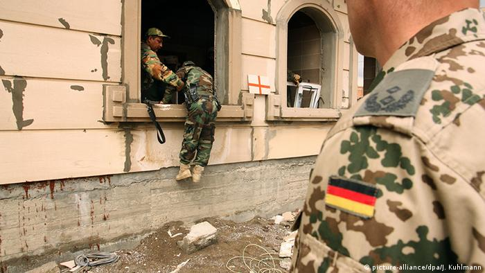Irak Ausbildung Peschmerga durch Bundeswehr