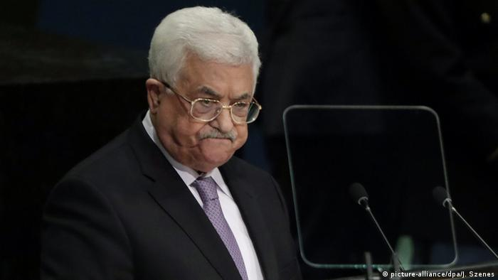 Abbas described Israel's occupation of the West Bank and Gaza nearly 50 years ago as abhorrent