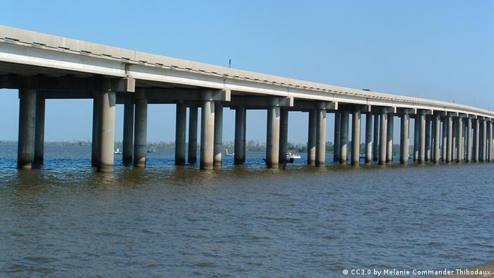 USA Brücke Manchac Swamp bridge