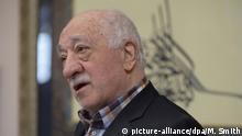 USA Fethullah Gülen bei einer Pressekonferenz