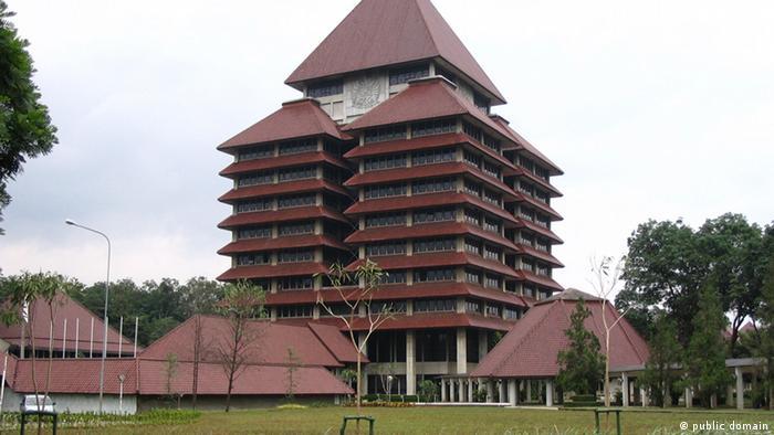 Indonesien University of Indonesia, Rektorat Hauptgebäude (public domain)