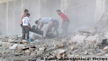Feroces bombardeos dejan casi 100 muertos en Alepo