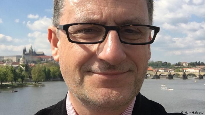 مارك غاليوتي، خبير بريطاني في الشؤون الروسية.