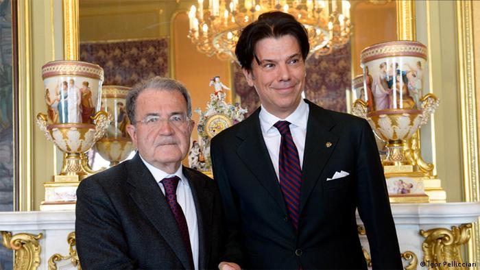 Dr. Igor Pellicciari i Romano Prodi