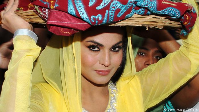 Schauspielerin Veena Malik (Getty Images/AFP/STR)