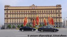 Russland Lubljanka Platz Moskau