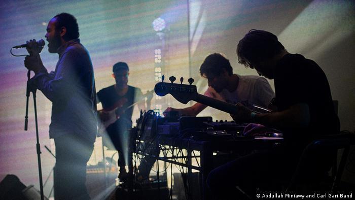 حفل موسيقي في برلين لفرقة المنياوي وكارل غاري