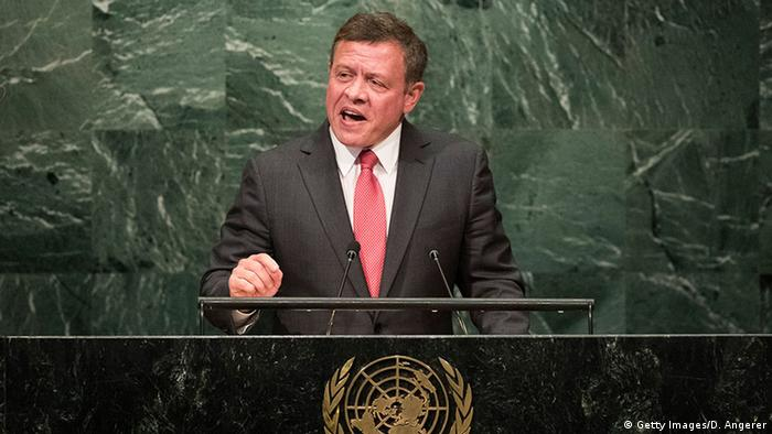 USA New York - Abdullah II bin Al Hussein (Getty Images/D. Angerer)
