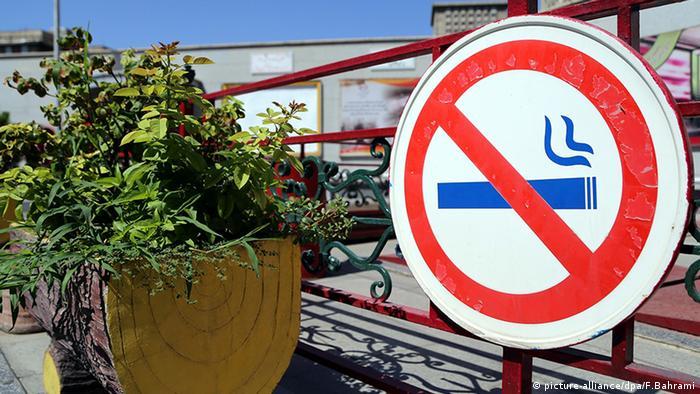 Iran Wasserpfeifen rauchen Shisha Rauchen Rauchverbot