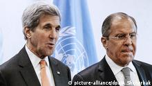 Sergei Lawrow John Kerry New York City