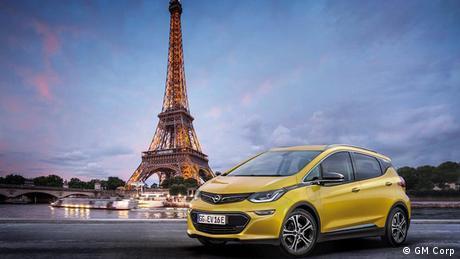 Pariser Autosalon 2016 Opel (GM Corp)