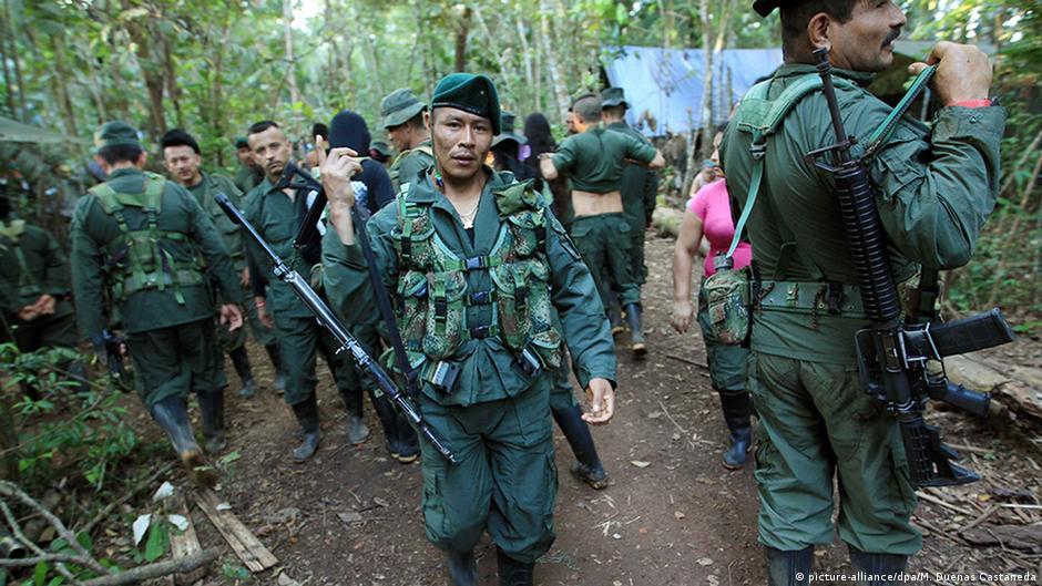 Kolumbien FARC Friedensvertrag