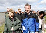 Канцлер Меркель и Кристиан Вульф