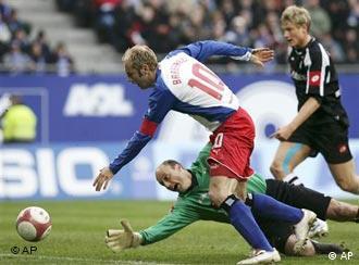 Гамбург боруссия менхенгладбах 0 1
