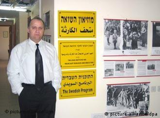 Chaled Kassab Mahameed will über den Holocaust aufklären