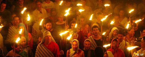 Prozession in Brasilien - Grossbilder