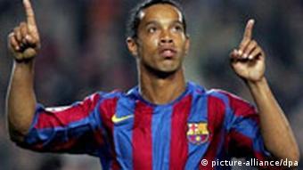 Ronaldinho beim FC Barcelona Porträt