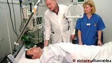 Intensivstation in einem Krankenhaus