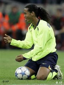 Ronaldinho - Champions League