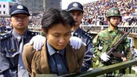 china organhandel von hingerichteten