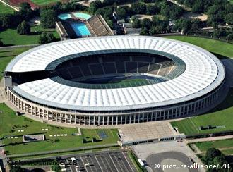 A venue steeped in the history, Berlin's Olympic Stadium hosts the 2006 World Cup final