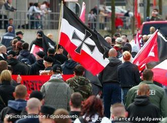 Neo-nazis march in Halberstadt