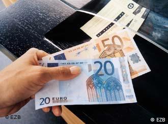 1 января 2001 в наличное обращение поступит евро