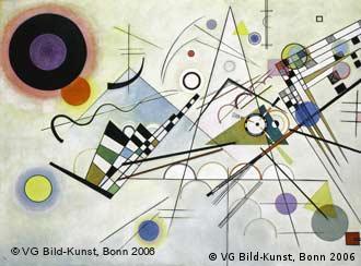 Composition 8, 1923, Wassily Kandinsky