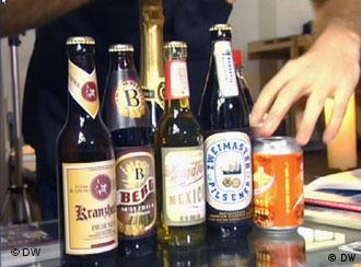 Just some of the beer brands invented by Schein Berlin