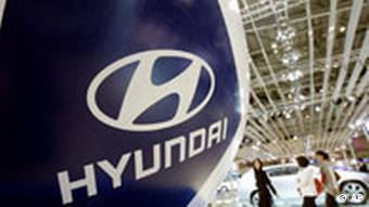 A signboard of Hyundai Motor Co. AP Photo/Ahn Young-joon