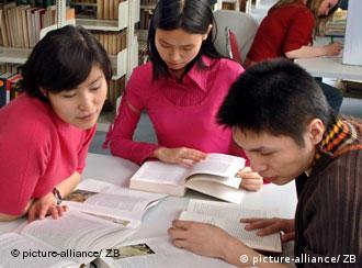 Students from China study at the TU Chemnitz