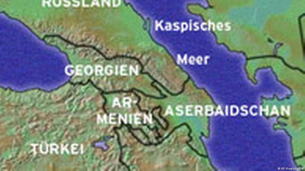 Kaukasus Orientierungssuche Zwischen Europa Und Asien Fokus Osteuropa Dw 14 02 2008