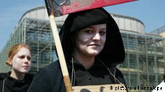 Demonstration zum 1. Mai