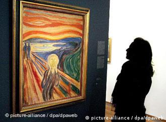 A picture of Edvard Munch's painting, The Scream